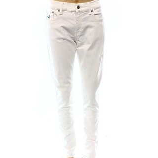 Polo Ralph Lauren NEW Solid White Women's Size 31 Slim Skinny Jeans