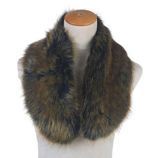 Mad Style Green Faux-Fur Stole