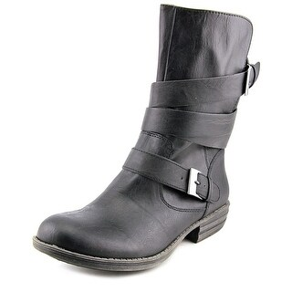 American Rag Acale Women Round Toe Synthetic Black Mid Calf Boot