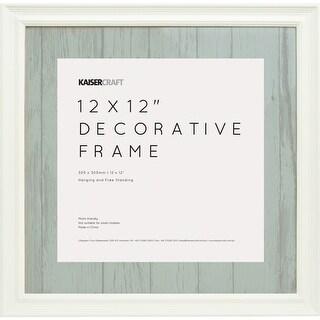 """Kaisercraft Frame 12""""X12""""-White"""