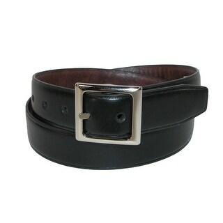 Dickies Boys' Centerbar Reversible Belt - Black/Brown