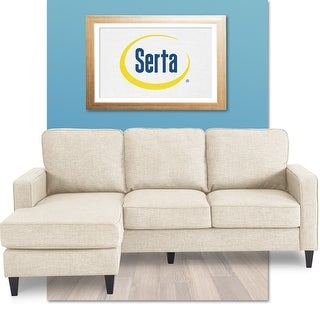 Serta Harmon Reversible Sectional Sofa