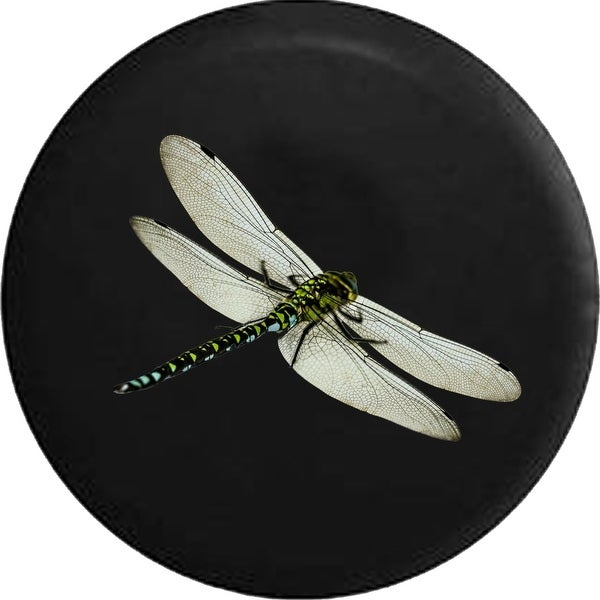Spare Tire Cover Dragonfly , Yellow & White. Opens flyout.