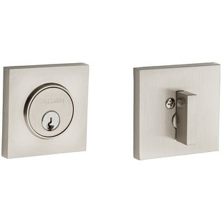 Baldwin 8220 Santa Monica Contemporary Square Single Cylinder Deadbolt