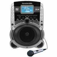 Karaoke USA SD519 Portable Karaoke MP3 G Player with Video Output