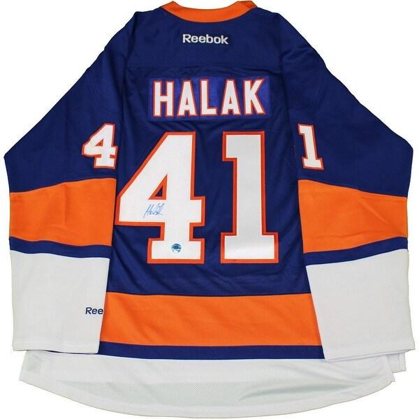 new style 8ec99 10518 Jaroslav Halak New York Islanders Reebok Premier Jersey