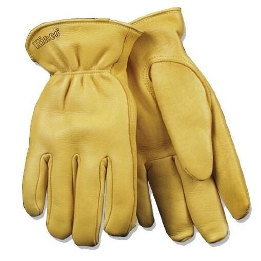 Kinco 90HK-M Men's Thermal Lined Deerskin Gloves, Medium