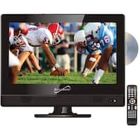 "Supersonic SC-1312 13.3"" 720p AC/DC Widescreen LED HDTV/DVD Combination"