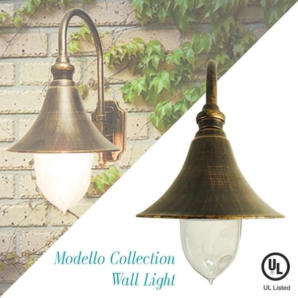 Shop eTopLighting Modello Collection Exterior Wall Lantern f432383a725a5