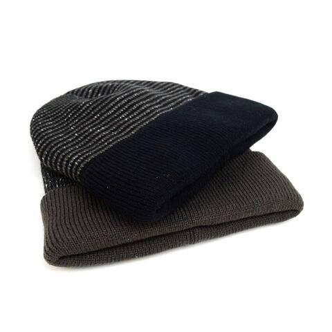 Stripes Heavy Duty Winter Outdoor Beanie Hat for Men & Women