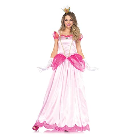 Womens Classic Pink Princess Halloween Costume