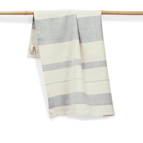BLUEBERRY Handmade, Fair Trade, Artisan Woven Kitchen Towel (India)