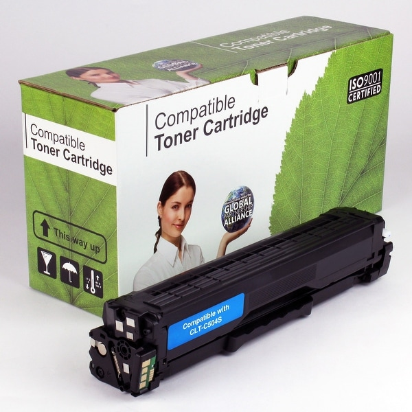 Value Brand replacement for Samsung CLT-C504S, CLP-415NW Cyan Toner (1,800 Yield)