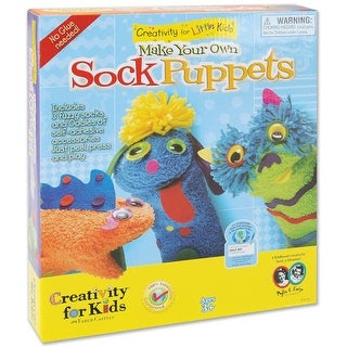 Make Your Own Sock Puppets Kit-