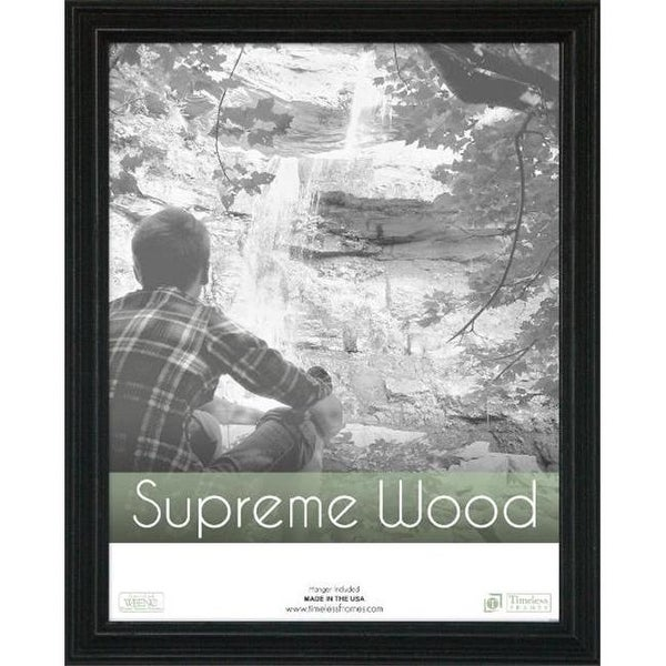 Timeless Frames 42447 Supreme Woods Black Wall Frame, 9 x 12 in ...