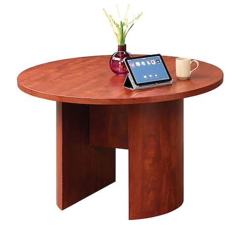 """Copper Grove Flemming 48-inch Round Conference Table - 48"""" x 48"""" x 29"""""""