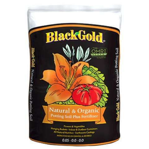 Black GoldA 1402040-CFL002P Natural & Organic Potting Soil Fertilizer, 2 Cu.Ft.