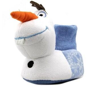 Disney Frozen Anna & Elsa Slipper Round Toe Synthetic Slipper