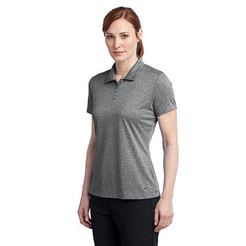 Nike Women's Dri-Fit Heather Polo