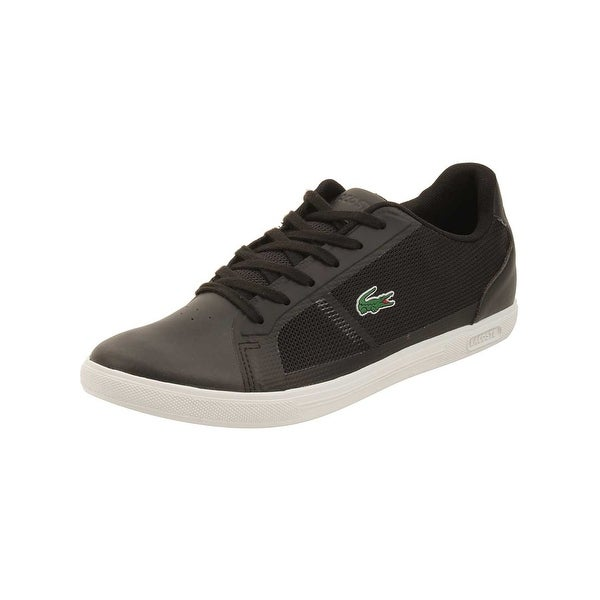 0dc380e50597ad Shop Lacoste Mens Strideur 116 Sneakers in Black - Free Shipping ...