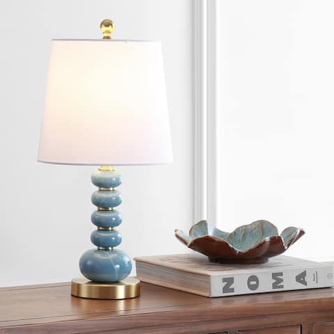 "SAFAVIEH Lighting Trace 20-inch LED Table Lamp - 10""x10""x20"""