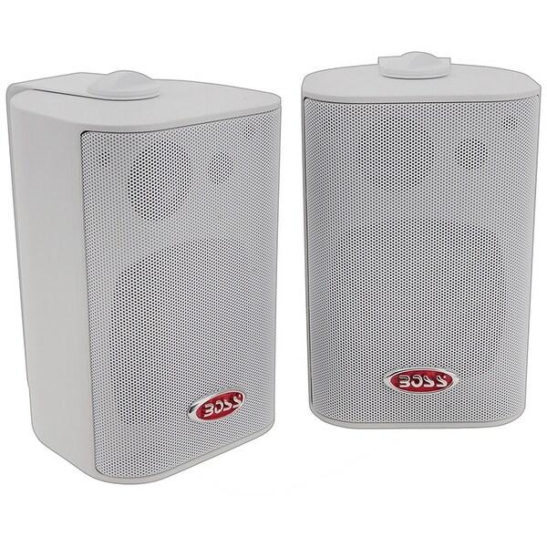 Boss 3-Way Indoor/Outdoor Speaker White