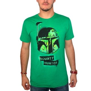 Star Wars Bounty Hunter Men's Green T-shirt