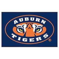 NCAA Auburn University Tigers Ulti-Mat Rectangular Area Rug