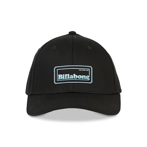 Billabong Men's Hat Black Adjustable Walled Snapback Baseball Cap