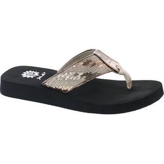 2532442d43e8e Buy Medium Yellow Box Women's Sandals Online at Overstock.com | Our Best Women's  Shoes Deals
