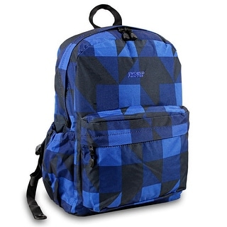 J World New York  Oz Day Backpack, Block Navy