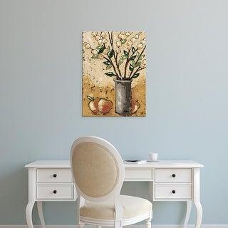 Easy Art Prints Jade Reynolds's 'Leaves & Apples' Premium Canvas Art