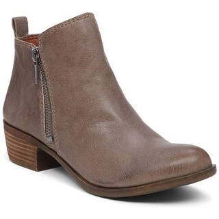 Lucky Brand Women's Basel Bootie Brindle Leather