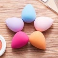 Zodaca Beauty Droplet Shape Cosmetic Makeup Sponge Puff Flawless Blender for Liquid Foundation/ Coverage/ Concealer - Thumbnail 6