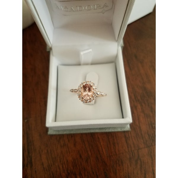 Top Product Reviews for Miadora 14k Rose Gold Oval-Cut