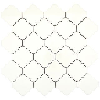 Emser Tile F31VOGU1014MONMP11  Vogue - Baroque Mosaic Floor and Wall Tile - Matte Tile Visual