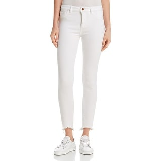 DL1961 Womens Farrow  Colored Skinny Jeans Instaslim High Rise - Cape Cod