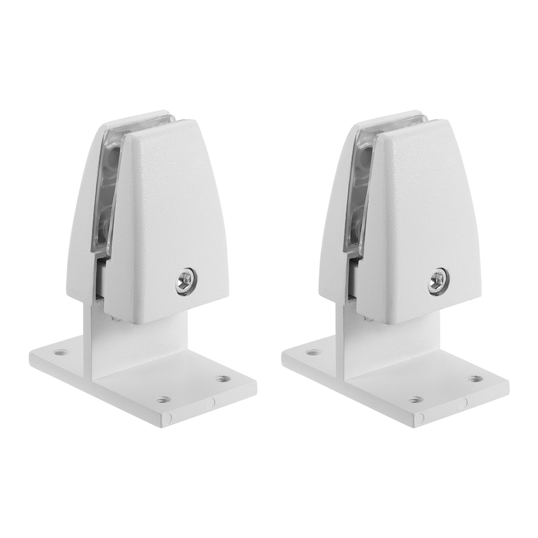 CALIDAKA 2pcs//Set Screen Partition Clip Bracket Screen Holder Fixed Desk Divider Clamp Desktop Partition Support Holder Table Separator Board Clamp for Office Anti Rust Aluminium Alloy