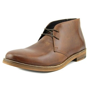 Crevo Dorville Men Round Toe Leather Chukka Boot