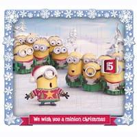 "9.5"" Despicable Me Minions Christmas Advent Calendar - YELLOW"