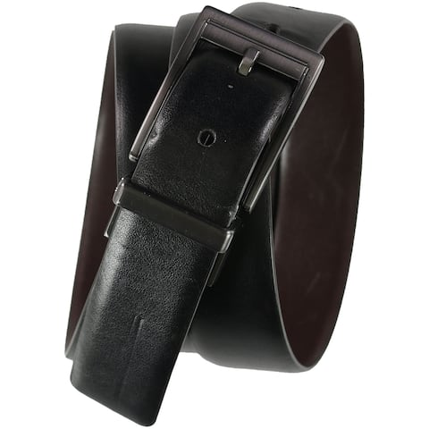 Alfani Mens Reversible Slim Skinny Belt - 38