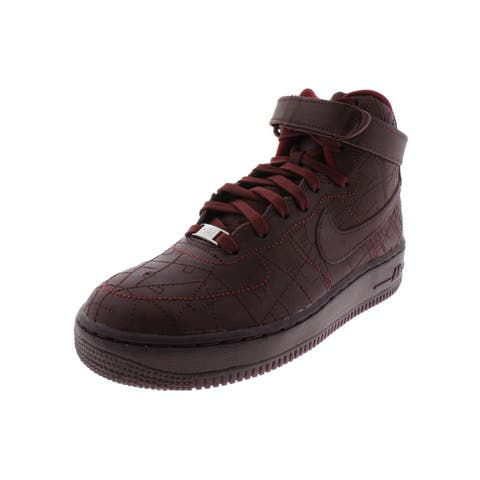 Nike Womens Air Force 1 HI FW QS Basketball Shoes Leather High Top