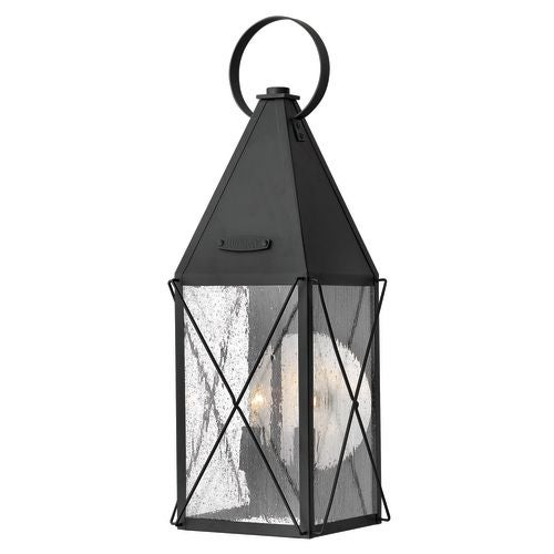 "Hinkley Lighting 1844 21.25"" Height 2 Light Lantern Outdoor Wall Sconce from the York Collection"