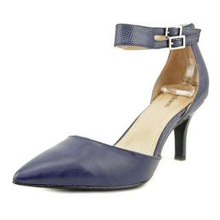 Style & Co Wanda Women Pointed Toe Synthetic Blue Heels