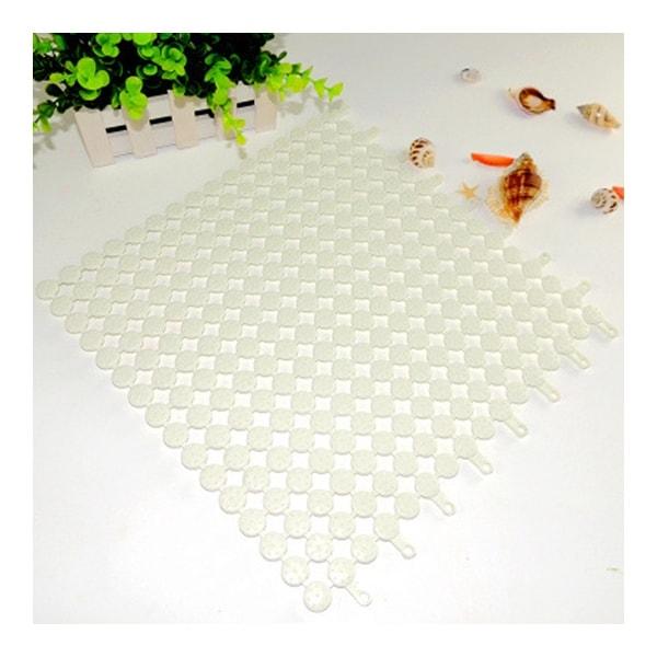 Creative PVC Floor Ground Mat Carpet Cuttable - White