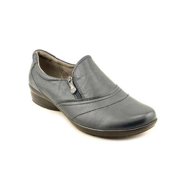 Naturalizer Clarissa  WW Round Toe Leather  Loafer