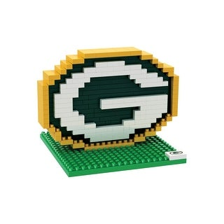 NFL Green Bay Packers Logo BRXLZ 3D Puzzle
