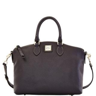 Dooney & Bourke Pebble Grain Leather Satchel (Introduced by Dooney & Bourke at $228 in Nov 2013) - black black