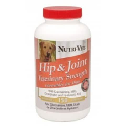 Nutri-Vet 94138-6 Hip & Joint Vet Strength 150Ct