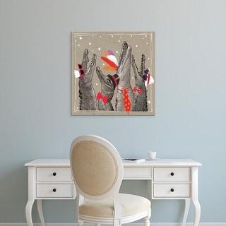 Easy Art Prints Hammond Gower's 'Fancy Pants Zoo VI' Premium Canvas Art